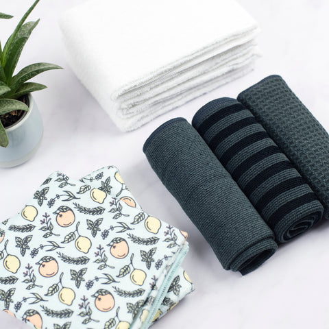 GRAY Cleaning Cloth Bundle