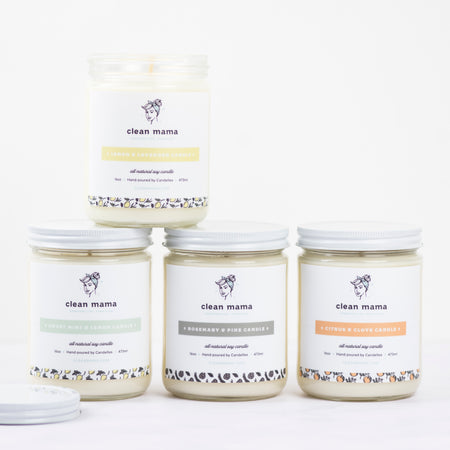 Rosemary + Pine Candle - 16 oz.