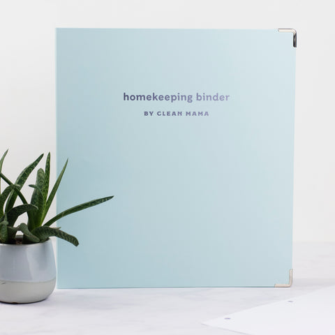 Homekeeping Binder Kit