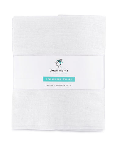 Flour Sack Towels – Set of 4