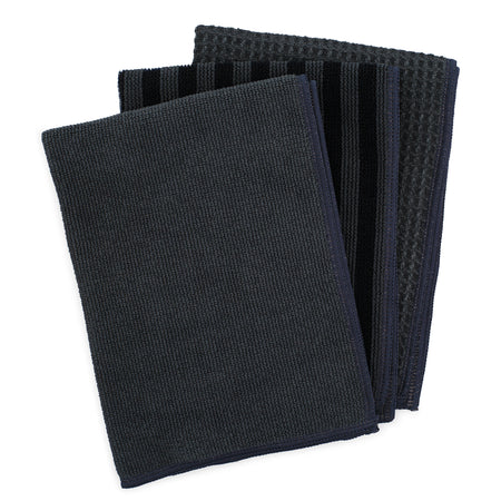 Cleaning Cloth Kit - set of 3 - Gray