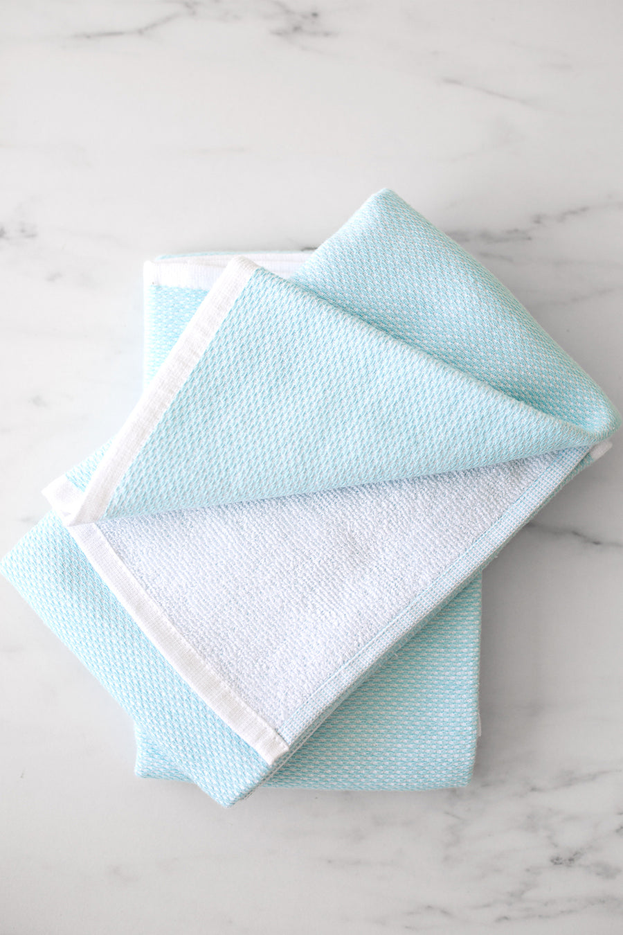 REVERSIBLE TERRY TOWELS | set of 2