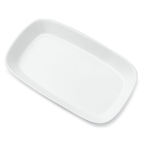 Sink Side Tray – White Porcelain