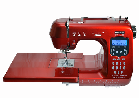 Necchi Rosso 200Q - inc. 6 piece quilting kit & Extension table