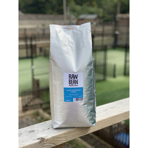 Raw Bean Waitrose Unpacked Classic House Blend 2.5kgs