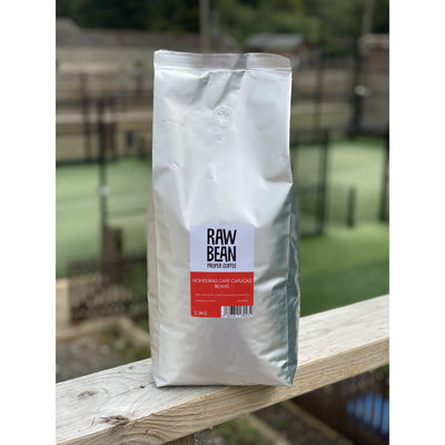 Raw Bean's Waitrose 'Unpacked' range - single origin Honduras Cafe Capucas 2.5kg Beans (Fairtrade)