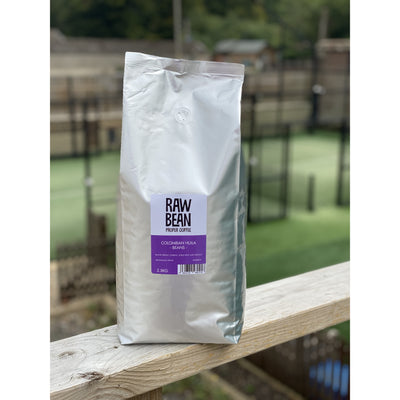 Raw Bean Waitrose Unpacked Colombian Hulia