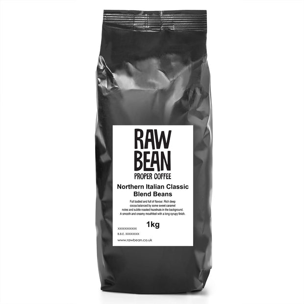 1kg Coffee Beans - Northern Italian Classic Blend