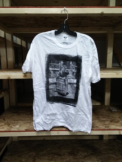 White Kilian Martin Retro T - XL