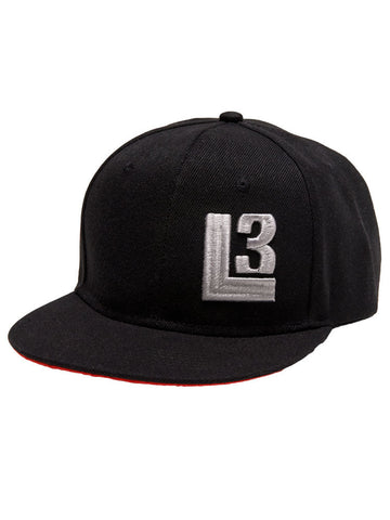 Thuggies L3 Snapback Hat - Black