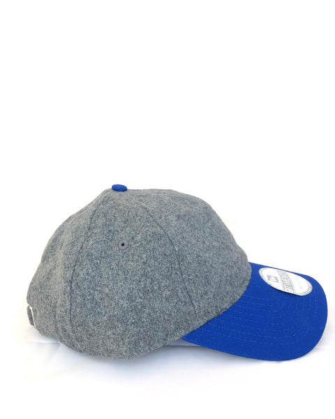 Melton Heather Grey & Blue Cap