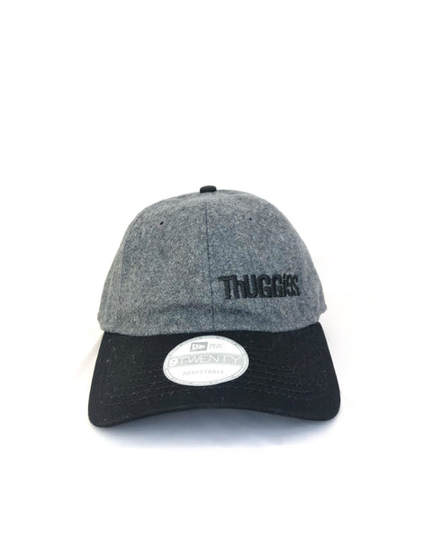 Melton Heather Grey & Black Cap
