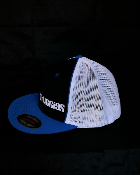 Black & Blue Trucker Hat