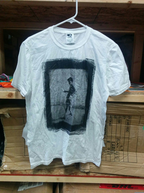 White Kilian Martin Retro T - Medium