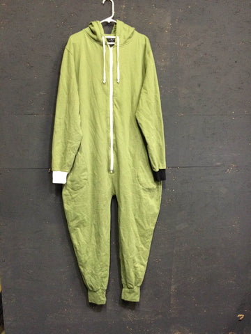 Olive Onesie, Loose stitching - Full Thug (L)