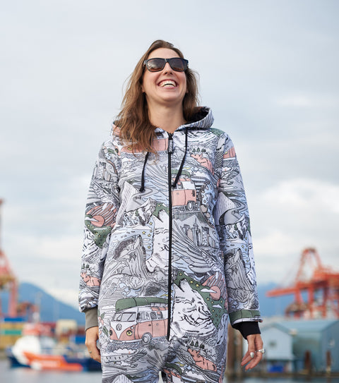 Ski to Sea Funzie Onesie
