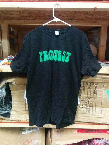 Protest Skateboards Black T Shirt - Large