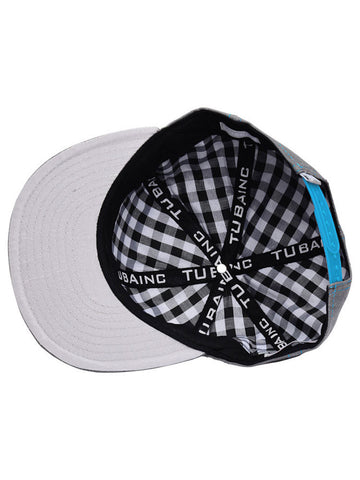 Tuba Inc. Snap Back Hat - Grey-Blue