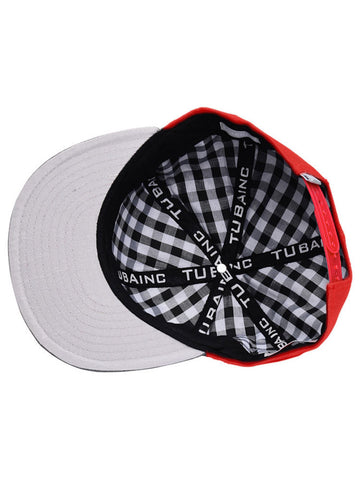 Tuba Inc. Snap Back Hat - Red