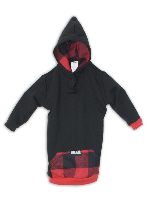 Black & Red Plaid Thugglet