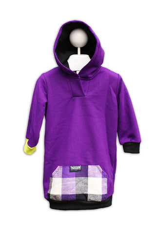 Purple Buffalo Plaid Thugglet