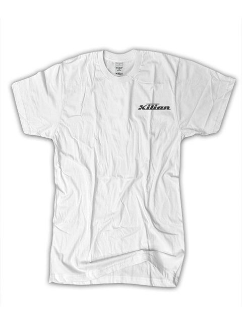 White Kilian Logo T - Medium