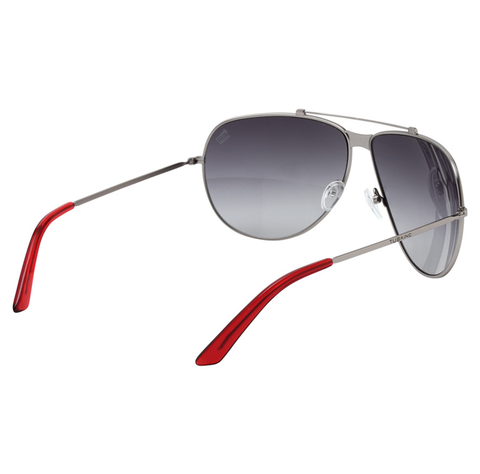 Tuba Inc. Keith Aviator Sunglasses - Nickel