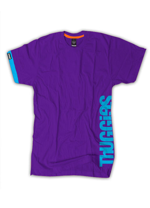 Thuggies Print T-Shirt - Purple