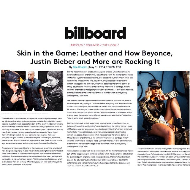 BEYONCE - BILLBOARD MAGAZINE