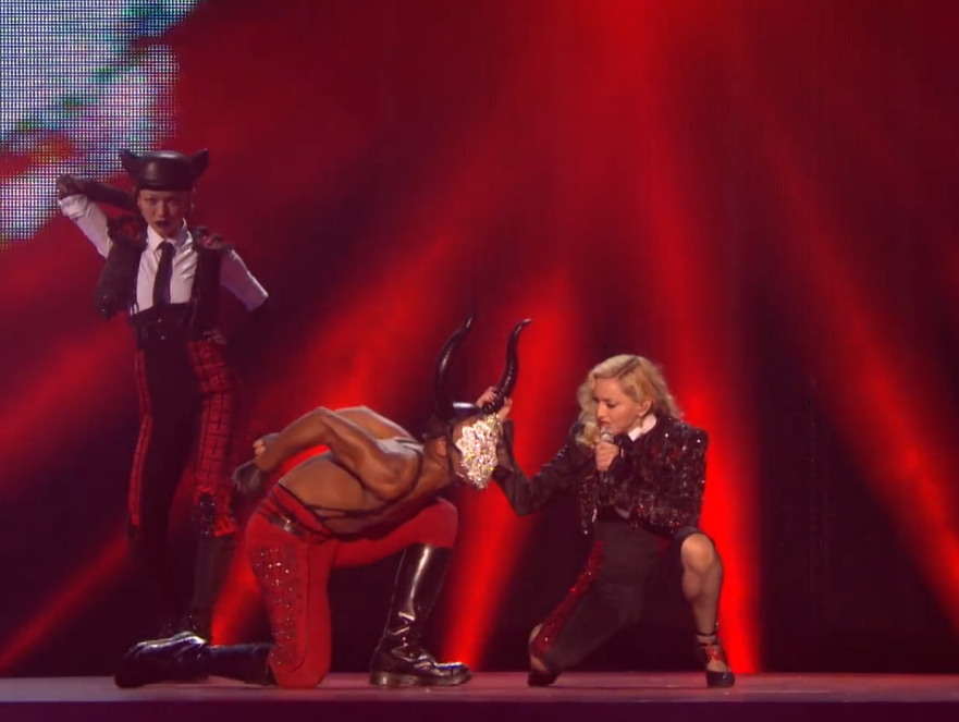 MADONNA - BRIT AWARDS 2015
