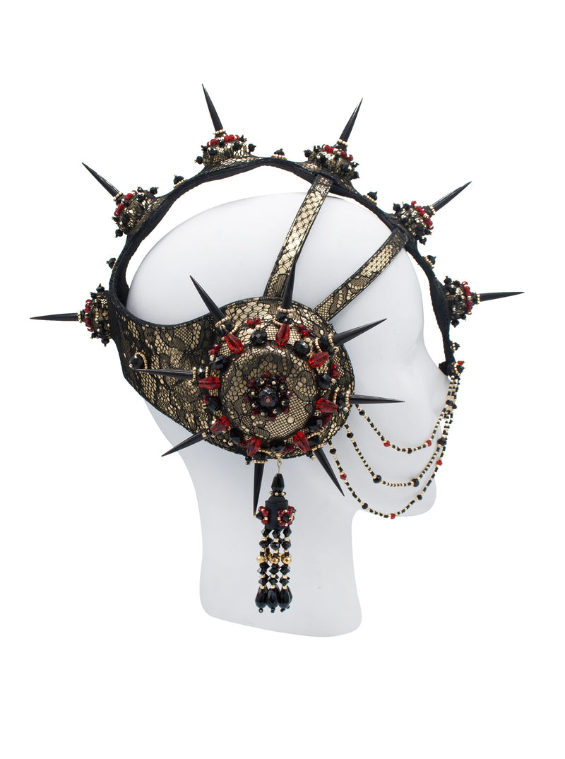 Amarantha headdress made by House of Malakai