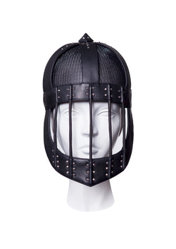 Mask Helmet with cage and crown made by House of Malakai