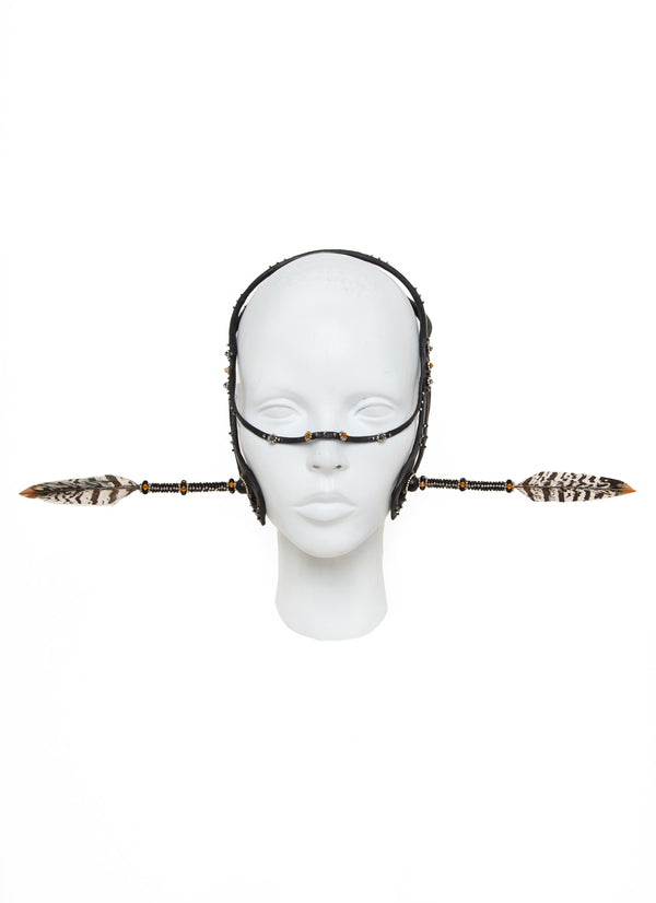 Transfix headdress made by House of Malakai