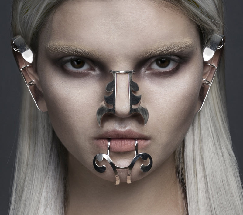 Metal nose cuff made by House of Malakai