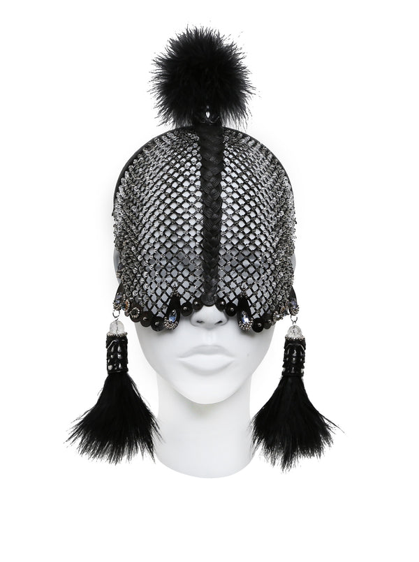 Cocoon headdress made by House of Malakai
