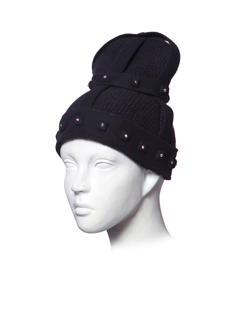 Beanie with crown made by House of Malakai