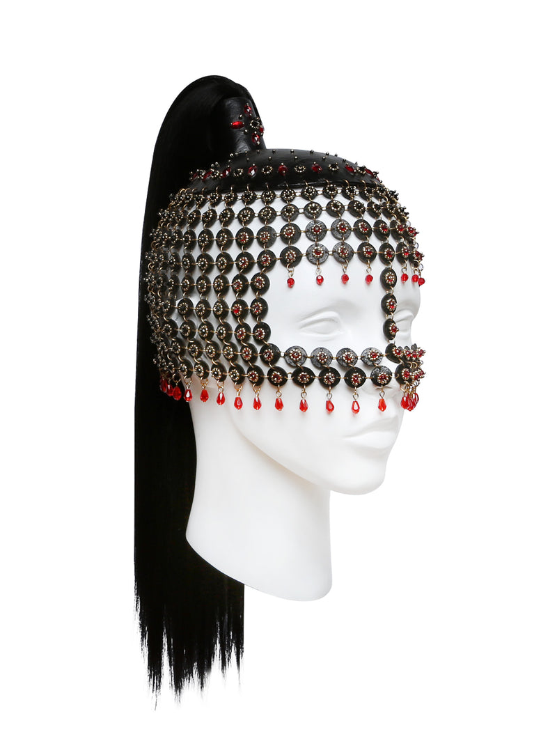 Equinus headdress made by House of Malakai