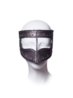 Leather Mask made by House of Malakai