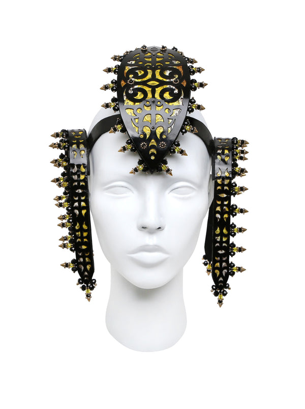 Filigree headdress made by House of Malakai