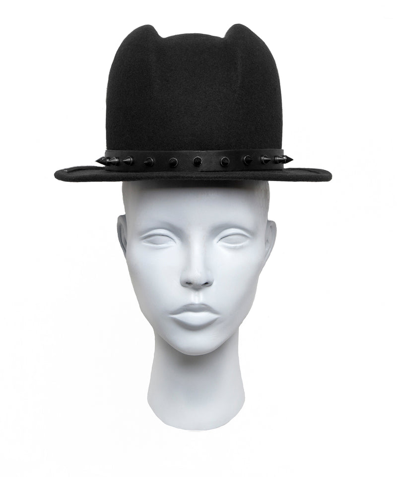 Felt fedora hat from House of Malakai