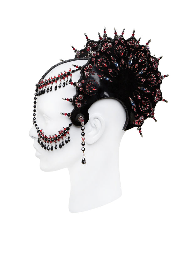 Crimson Headdress made by House of Malakai