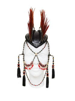 Kayda headdress made by House of Malakai