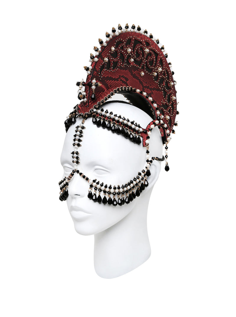 Seraphim headdress made by House of Malakai