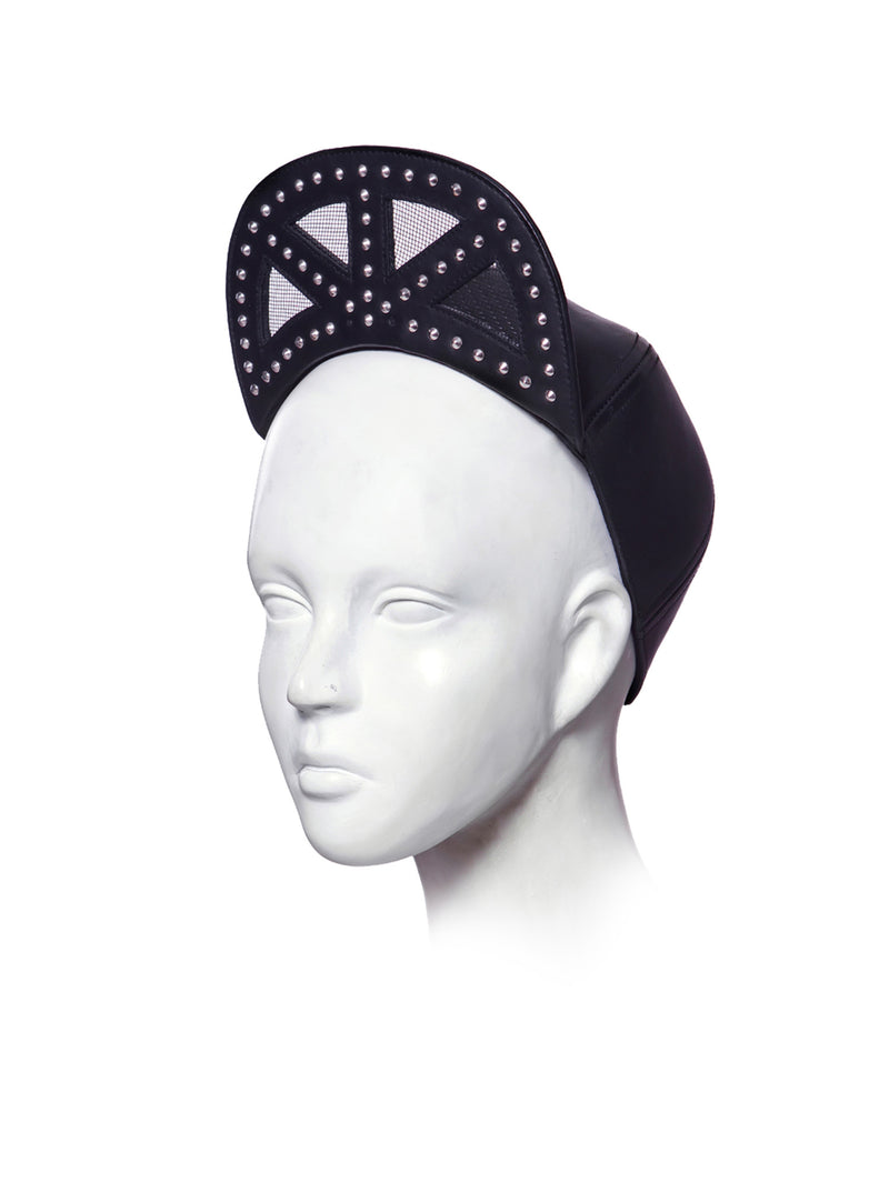Cap with crown variation made by House of Malakai