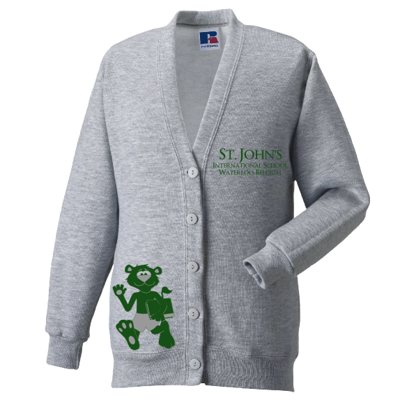 Lower School Lucky Lion Cardigan