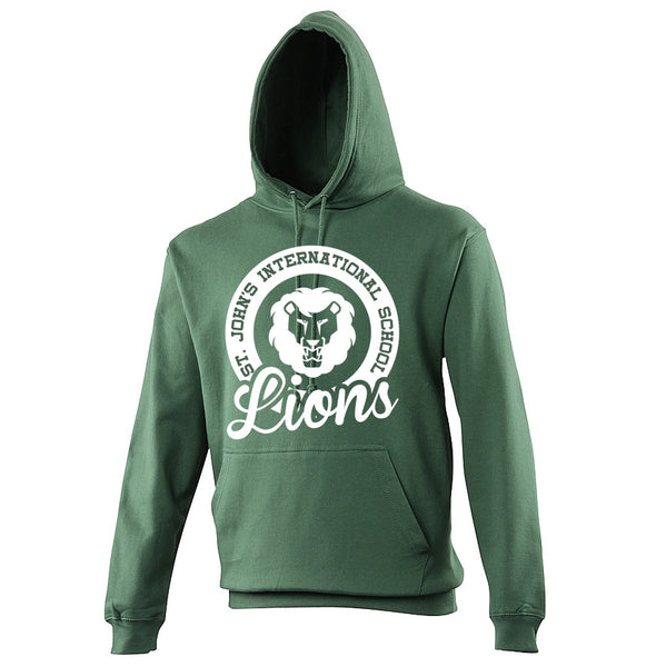 Hoodie with Lions Circle Design