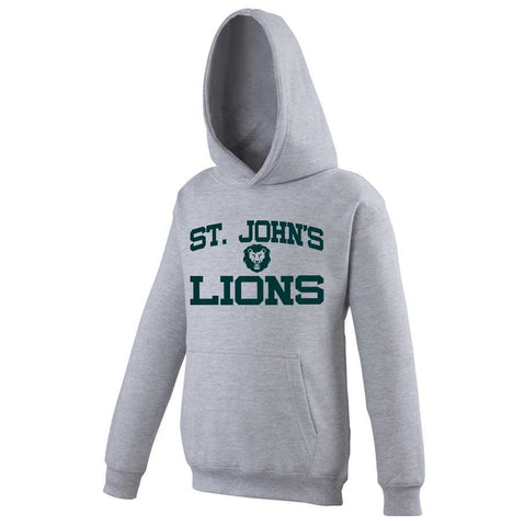 Hoodie with Lions Design