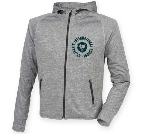 Ladies Active Zip Hoodie