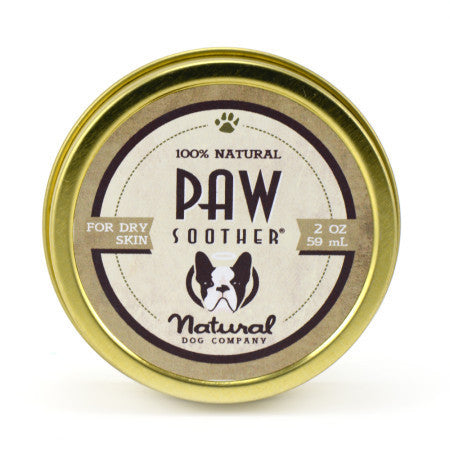 Natural Dog Paw Soother Tin