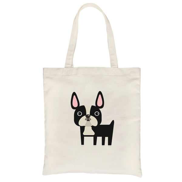 French Bulldog Canvas Bag